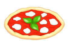 Uma pizza saboroso Foto de Stock Royalty Free