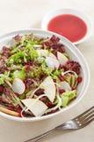 Uma placa da salada do vegetariano Imagem de Stock Royalty Free