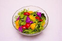 uma placa do prato frio Imagem de Stock