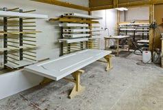 Uma planta para a fabricação da mobília Foto de Stock Royalty Free