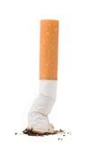 Uma ponta de cigarro fotografia de stock