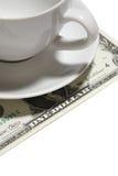 Uma ponta do dólar fotos de stock royalty free