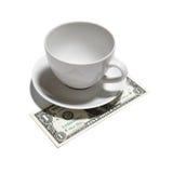 Uma ponta do dólar imagens de stock royalty free