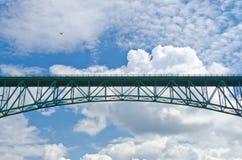 Uma ponte. Fotografia de Stock Royalty Free