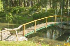 Uma ponte bonita Imagem de Stock