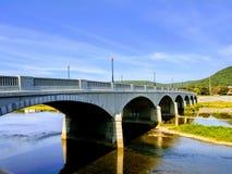 Uma ponte bonita foto de stock