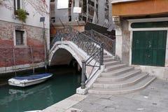Uma ponte bonita de Veneza fotografia de stock