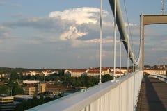 Uma ponte em Göteborg Fotografia de Stock Royalty Free