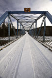 Uma ponte estreita Imagens de Stock
