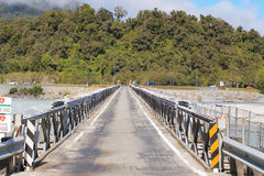 Uma ponte Franz Josef da maneira Imagens de Stock