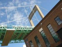 Uma ponte no telhado Fotografia de Stock Royalty Free