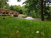 Uma ponte pequena Foto de Stock Royalty Free