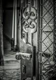 Uma porta aberta Fotografia de Stock Royalty Free