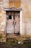 Uma porta de madeira velha Fotografia de Stock Royalty Free