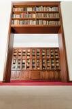 Uma porta dos livros - baixo ângulo Foto de Stock Royalty Free