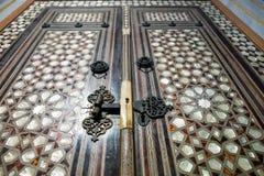 Uma porta no palácio de Topkapi em Istambul Fotos de Stock