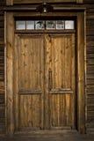 Uma porta velha em Lulea Foto de Stock