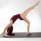 Uma pose equipada com pernas da roda Fotografia de Stock