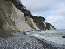 Uma praia Imagens de Stock
