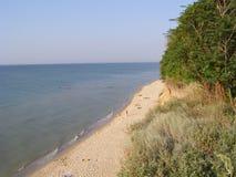 Uma praia bonita Imagem de Stock
