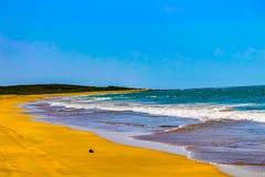 Uma praia bonita imagens de stock
