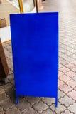 Uma prancheta azul Fotos de Stock