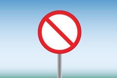Uma proibição Fotos de Stock