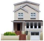 Uma propriedade residencial grande Fotos de Stock