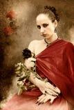 Uma rainha da rosa imagens de stock royalty free