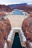 Uma represa de Hoover Fotos de Stock