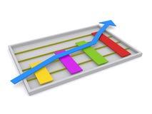 Ilustração do gráfico Foto de Stock Royalty Free
