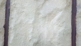 Uma rocha entre 2 linhas, fácil e bonito Foto de Stock