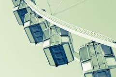 Uma roda de Ferris Imagem de Stock Royalty Free