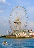 Uma roda de ferris gigante foto de stock royalty free