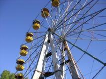 Uma roda de ferris velha Imagens de Stock Royalty Free