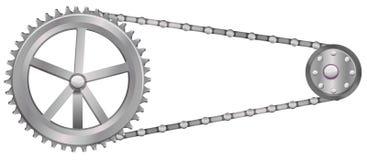 Uma roda denteada ilustração royalty free