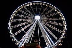 Uma roda grande à terra justa Fotografia de Stock