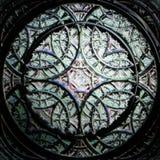 Uma roseta abstrata do fractal ilustração stock