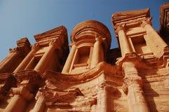 Uma ruína rosa-vermelha Foto de Stock Royalty Free
