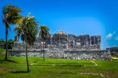Uma ruína tropical Fotografia de Stock Royalty Free