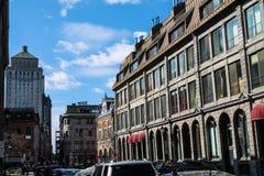 Uma rua colorida Imagens de Stock