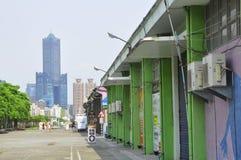 Uma rua de Koahsiung Foto de Stock Royalty Free