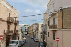 Uma rua de maneira Fotografia de Stock Royalty Free