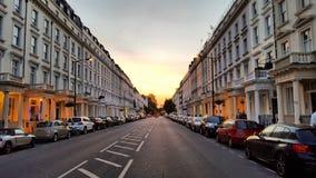 Uma rua em Londres Foto de Stock Royalty Free