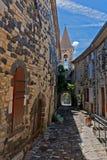 Uma rua estreita Fotografia de Stock Royalty Free