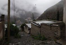 Uma rua no iruya Fotografia de Stock