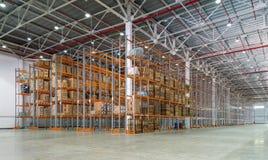 Uma sala de armazenamento grande Fotos de Stock Royalty Free