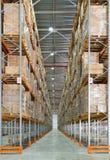 Uma sala de armazenamento grande Imagem de Stock Royalty Free