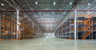 Uma sala de armazenamento grande Imagens de Stock Royalty Free
