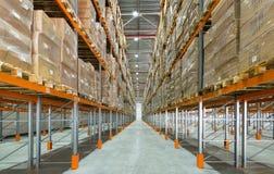 Uma sala de armazenamento moderna Foto de Stock Royalty Free